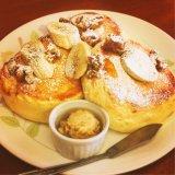 【トワサンク@北長野】赤ちゃん連れでGO!もはやスフレなパンケーキ♡/長野市子連れランチブログ