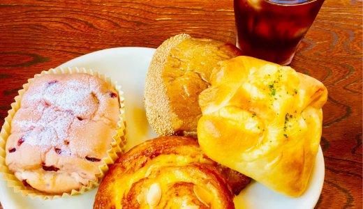【3びきのくじら@中条】プラレールで遊べる素敵なパン屋カフェ/長野市子連れランチブログ