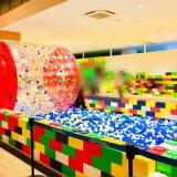 【イオンモール@松本】巨大ブロックで子供と遊ぼう!期間限定のビルディングブロック詳細!冬休みや正月休みにお勧めの室内遊び/長野子連れブログ