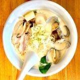 【月の兎影@松本】スープ飲み干す人続出!あさりだしの究極あっさりラーメン/長野ラーメン女子ブログ
