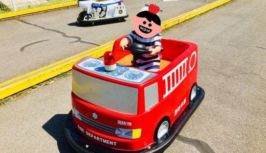 【城山動物園@善光寺東】入園無料の小さな動物園なのにメリーゴーランドやバッテリーカーに乗れる!乗り物系の大型遊具が充実してるよ/長野市子連れブログ